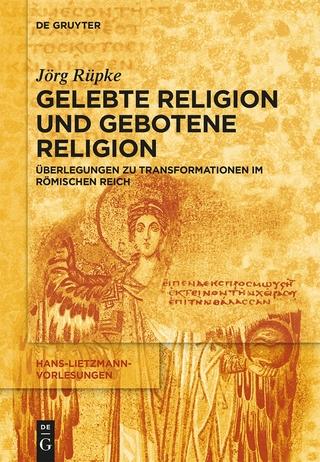 Religiöse Transformationen im Römischen Reich - Jörg Rüpke