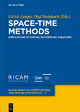 Space-Time Methods - Ulrich Langer;  Olaf Steinbach