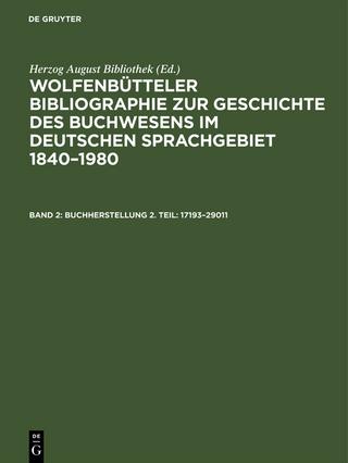 Buchherstellung 2. Teil: 17193?29011 - Herzog August Bibliothek
