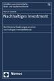 Nachhaltiges Investment - Manuel Gietzelt