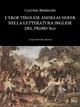 L'eroe tirolese Andreas Hofer nella letteratura inglese del primo '800 - Claudia Messelodi - Claudia Messelodi