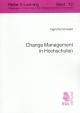 Change Management in Hochschulen - Ingrid Schönwald