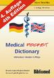 Medical Pocket Dictionary / Wörterbuch Medizin und Pflege. Deutsch/Englisch English/German