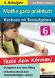 Mathe ganz praktisch - Rechnen mit Textaufgaben, 6. Schuljahr - Jan S Hansen