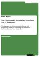 Das Phasenmodell literarischen Verstehens von G. Waldmann - Britta Wehen
