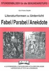 literatur fabel und parabel von karl h seyler isbn 978 3 89291 572 0 bei lehmanns. Black Bedroom Furniture Sets. Home Design Ideas