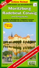 Radwander- und Wanderkarte Moritzburg, Radebeul, Coswig und Umgebung
