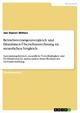 Betriebsvermögensvergleich und Einnahmen-Überschussrechnung im steuerlichen Vergleich - Jan Daniel Witten