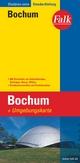 Falk Stadtplan Extra Standardfaltung Bochum mit Ortsteilen von Gelsenkirchen, Ha