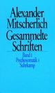 Gesammelte Schriften in zehn Bänden - Alexander Mitscherlich; Klaus Menne