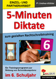 5-Minuten-Diktate / Klasse 6 - Petra Lindner-Köhler