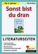 Sonst bist du dran - Literaturseiten - Pia Schülin