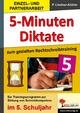 5-Minuten-Diktate / Klasse 5 - Petra Lindner-Köhler