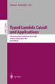 Typed Lambda Calculi and Applications - Samson Abramsky