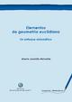 Elementos de geometría euclidiana - Alberto Jaramillo Atehortúa
