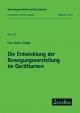 Die Entwicklung der Bewegungsvorstellung im Gerätturnen - Hans G Schöpe