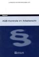 AGB-Kontrolle im Arbeitsrecht - Linda Rainer