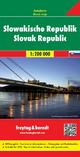 Slowakische Republik, Autokarte 1:200.000 - Freytag-Berndt und Artaria KG
