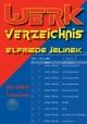 Werkverzeichnis Elfriede Jelinek