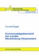Kommunalabgabenrecht des Landes Mecklenburg-Vorpommern - Claudia Brinkmann; Brigitte Fronzek; Christa Ortgies