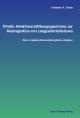 Private Arbeitsvermittlungsagenturen zur Reintegration von Langzeitarbeitslosen - Susanne A. Dreas