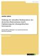 Stärkung der aktuellen Marktposition des deutschen Bustourismus durch Optimierung der absatzpolitischen Instrumente - Jenifer Göhre