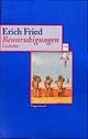 Beunruhigungen - Erich Fried