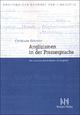 Anglizismen in der Pressesprache - Christiane Götzeler