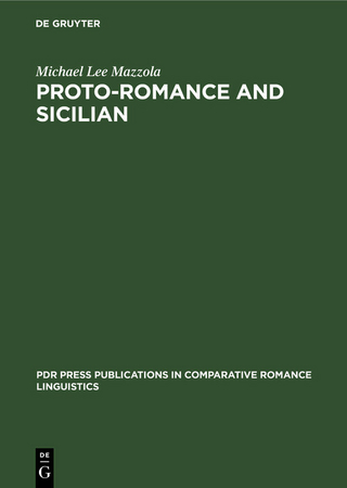 Proto-Romance and Sicilian - Michael Lee Mazzola
