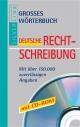 Grosses Wörterbuch Rechtschreibung