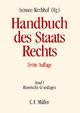 Handbuch des Staatsrechts - Josef Isensee; Paul Kirchhof