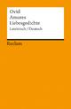 Amores / Liebesgedichte - Ovid; Michael von Albrecht