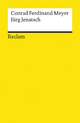 9783150069646 - Conrad F Meyer: Jürg Jenatsch - Libro