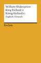 King Richard II / König Richard II. - William Shakespeare; Dieter Hamblock