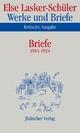 Werke und Briefe. Kritische Ausgabe - Else Lasker-Schüler; Norbert Oellers; Heinz Rölleke; Itta Shedletzky