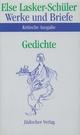 Werke und Briefe. Kritische Ausgabe - Else Lasker-Schüler; Karl Jürgen Skrodzki