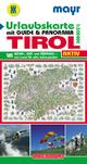 Urlaubsführer Tirol mit Straßenkarte 1:300000 und Panorama - KOMPASS-Karten GmbH