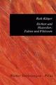 Dichter und Historiker: Fakten und Fiktionen - Ruth Klüger