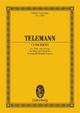 Konzert D-Dur - Georg Philipp Telemann; Jürgen Braun