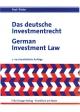 Das deutsche Investmentgesetz /German Investment Law - Thomas Paul; Rüdiger H Päsler
