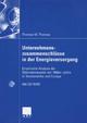 Unternehmenszusammenschlüsse in der Energieversorgung - Thomas Werner Thomas