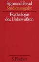 Sigmund Freud - Kassette. Studienausgabe