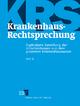 Krankenhaus-Rechtsprechung (KRS) / Krankenhaus-Rechtsprechung II - Abonnement - Behrend Behrends; Werner Gerdelmann
