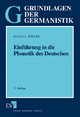 Einführung in die Phonetik des Deutschen - Klaus J. Kohler