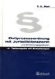 Zivilprozessordnung mit Jurisdiktionsnorm und Einführungsgesetzen - Peter G Mayr