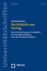 der r cktritt vom vertrag von christof muthers isbn 978 3 8329 2745 5 fachbuch. Black Bedroom Furniture Sets. Home Design Ideas