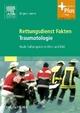 Rettungsdienst Fakten Traumatologie