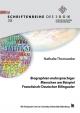 Biographien mehrsprachiger Menschen am Beispiel Französisch-Deutscher Bilingualer - Nathalie Thomauske