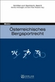 Österreichisches Bergsportrecht - Martin Binder; Monika Hinteregger; Gert-Peter Reissner