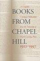 Books from Chapel Hill, 1922-1997 - The University of North Carolina Press